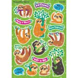 Sparkle Stickers® Large, Thoughtful Sloths