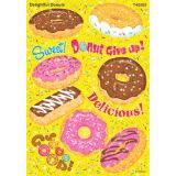 Sparkle Stickers® Large, Delightful Donuts