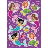 Sparkle Stickers® Large, Mermaids & Friends