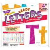 Color Harmony Paint Strokes 4 Playful Ready Letters® Uppercase/Lowercase Combo Pack