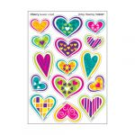 Artsy Heartsy/Cherry Stinky Stickers® – Mixed Shapes