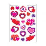 Sweet Hearts/Cherry Stinky Stickers® – Mixed Shapes