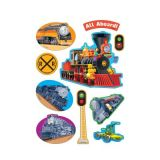 Terrific Trains (Licorice) Scratch 'n Sniff Stinky Stickers®