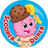 Stinky Stickers® Scoop Squad (Chocolate)