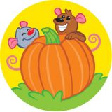 Stinky Stickers® Fall Friends (Pumpkin)