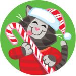 Stinky Stickers® Holiday Pals (Peppermint)