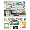 Bold Strokes Wipe-Off® Celebration Signs Bulletin Board Set