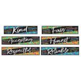 Color Harmony Character Traits Mini Bulletin Board Set