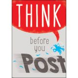Think before you Post ARGUS® Poster