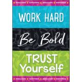 Color Harmony™ WORK HARD Be Bold TRUST… Argus® Poster