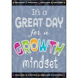 GREAT DAY for a GROWTH MINDSET Argus® Poster