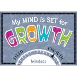 My MIND is SET for GROWTH Argus® Poster