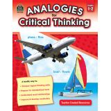 Analogies for Critical Thinking, Grades 1-2