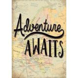 Adventure Awaits Positive Poster