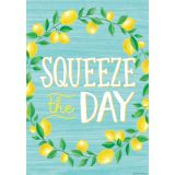 Lemon Zest Squeeze the Day Positive Poster