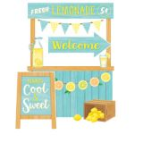 Lemon Zest Lemonade Stand Bulletin Board Set