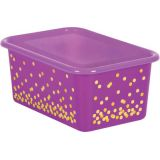 Clear Plastic Storage Bin Lid, Small