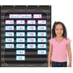 Chalkboard Brights 10-Pocket Chart, 34