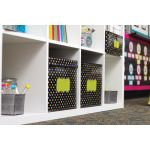 Chalkboard Brights Storage Bin, Small