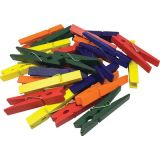 STEM Basics, Multicolor Clothespins (50)
