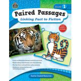 Paired Passages: Linking Fact to Fiction, Grade 1