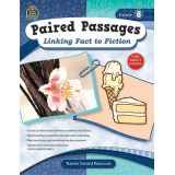 Paired Passages: Linking Fact to Fiction, Grade 8