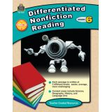 Differentiated Nonfiction Reading, Grade 6