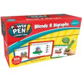 Power Pen Learning Cards, Blends & Digraphs