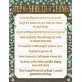 Eucalyptus Stop the Spread of Germs Chart