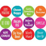 Spot On® Floor Markers, Positive Sayings, 4 Carpet