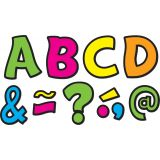 Magnetic 3 Letters, Neon Brights Funtastic