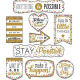 Clingy Thingies® Confetti Positive Sayings Accents