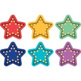 Spot On® Floor Markers, Marquee Stars, 4 Carpet