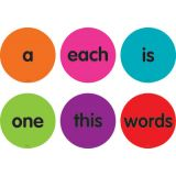 Spot On® Sight Words 1–50 Carpet Markers, 4