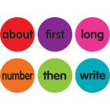 Spot On® Sight Words 51–100 Carpet Markers, 4