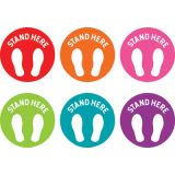 Spot On® Stand Here Carpet Markers, 4