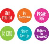 Spot On® Positive Sayings Floor Markers, 4