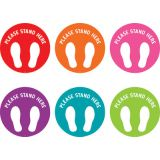 Spot On® Please Stand Here Carpet Markers, 7