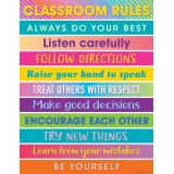 Colorful Vibes Rules Charts
