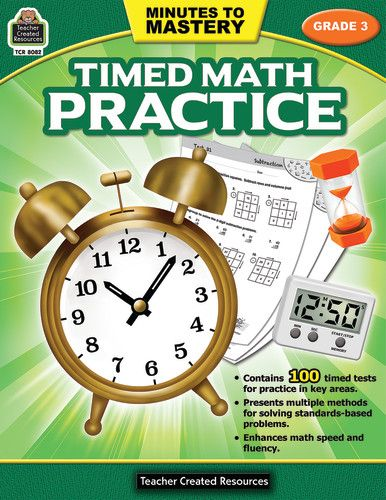 Minutes To Mastery Timed Math Practice Grade 3