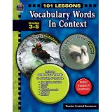 101 Lessons: Vocabulary Words in Context (Gr. 3–5)