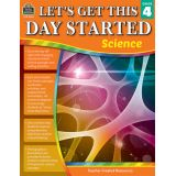Let's Get This Day Started: Science, Grade 4