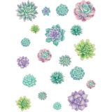 Rustic Bloom Succulents Accents
