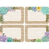 Rustic Bloom Name Tags/Labels