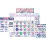 Iridescent Calendar Set