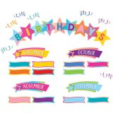 Colorful Vibes Happy Birthday Mini Bulletin Board Set