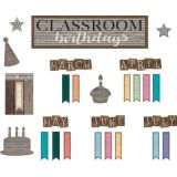 Home Sweet Classroom Classroom Birthday Mini Bulletin Board Set