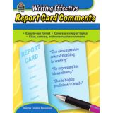 Writing Effective Report Card Comments, English Edition