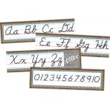 Home Sweet Classroom Cursive Mini Bulletin Board Set