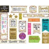 Confetti Spark & Shine Mini Bulletin Board Set